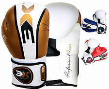 Boxing Gloves Muay Thai kick Boxing MMA Sparrign Gel Paded Gloves Training