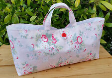Knitting Bag in Cath Kidston floral fabric, white cotton lining, hand-made