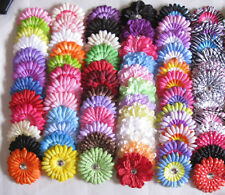 Lot Infant baby Kids girls gerbera Daisy Peony clip flowers hair accessories