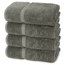 Turkish Luxury Hotel & Spa Towel 100% Cotton (Bath Towel- Set of 4)- MANY COLORS