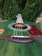 �� Heavy Relic Dreadnought Guitar Green Westfield B200 Acoustic