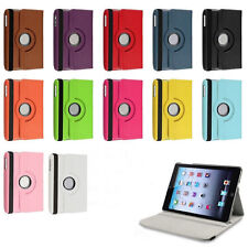 360 Rotating Leather Smart Cover Case for iPad 4 3 2 iPad mini 1 2 3 Cover iP