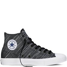 Converse Chuck Taylor All Star II Knit Black/White 100% Authentic New 151087C A+