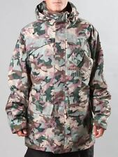 Special Blend Utility Snowboard Snow Ski Jacket Burnt Green Camo Large