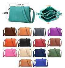 Satchel Cross Body Shoulder Hand Bag Pu Leather For Office College Girls Ladies