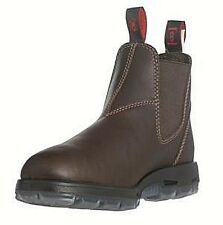 "Redback Boots UNPU ""Great Barrier"" Puma Brown Leather WORK BOOTS REDBACK"