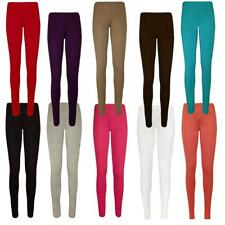 Womens Full Ankle Length Leggings Plus Size Stretch Long Trousers Pants 12-26