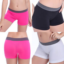 New Comfortable Summer Women Sports Workout Waistband Skinny Yoga Shorts Pants