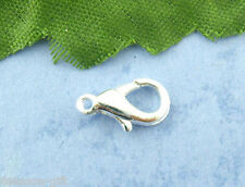 Gift Wholesale Silver Plated Lobster Clasps 12*6mm