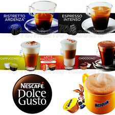 Nescafe Dolce Gusto Coffee pods capsules * Many flavours* Retail BOX of 16 PCS