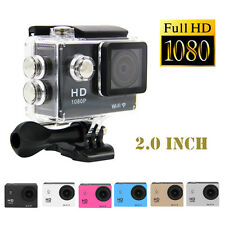 "SJ4000 WiFi Waterproof 1080P 12MP 2"" Car DVR Action Sport DV HD Video Camera"