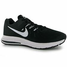 Nike Zoom Winflo 2 Running Shoes Womens Black/White Trainers Sneakers Fitness