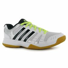 Adidas Ligra 3 Indoor Court Trainers Womens White/Navy/Silv Tennis Volley Shoes