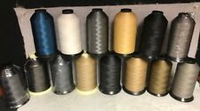 69 (Tex 70) Lt-Mid Weight Bonded Nylon/Poly Upholstery Leather Thread (8oz)