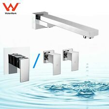 Bathroom Basin Wall Spout Swivel Water Outlet Tap with Shower Mixer / Tap