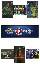Adrenalyn XL UEFA Euro 2016 Trading Cards. Individual Heroes & Legends Cards
