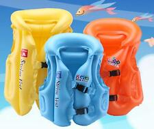 3Size  Baby Kid Float Inflatable Swim Vest Life Jacket Swimming Aid