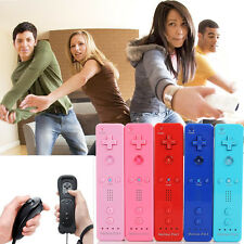 2X Built in Motion Plus Remote Nunchuck Controller Set For Nintendo Wii U WII AU