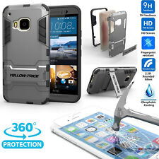 Dual Layers Extreme Protection Shockproof KickStand Armor Case + Films for LG G4