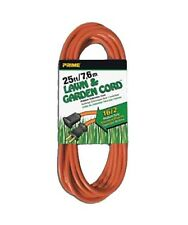 25-100Ft 16/2 Gauge Outdoor Heavy Duty Contractor Power Extension Cord Orange