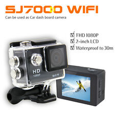 SJ7000 WIFI 1080P HD Sports DV Action Camera Camcorder 2 Batteries 16GB SD Card
