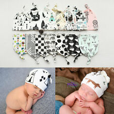 Toddler Kid Girl&Boy Hipster Baby Infant Crochet Knit Knotted Hat Beanie Cap WS