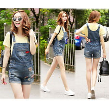 New Dungarees Overalls Jeans Shorts Pants Denim Cute Trendy M/L/XL/2XL 7030