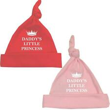 BabyPrem DADDY'S PRINCESS Hat Girls Premature Preemie Tiny Baby Clothes Red Pink