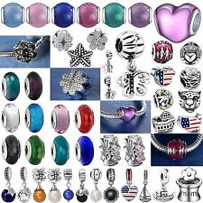 Fashion Fine Handmade New Bead 925 Sterling Silver Charms Fit Genuine Bracelets