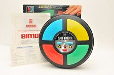 Original 1978 Milton Bradley Simon Electronic Memory Game In Box With Papers