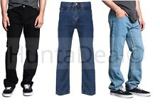 "MENS BOYS BIG SIZE JEANS EURODENIM 30"" WAIST TO 50"" INSIDE LEG 27""- 31"""