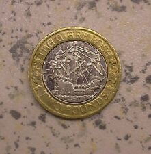 Scarce Mary Rose £2 pound coin