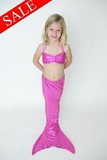 SALE! Pink Mermaid Outfit by Fairy Tail Mermaids ~ Fin (Monofin) Included ~ Fun