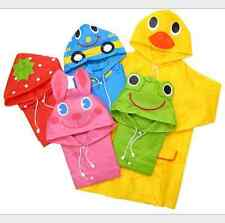 Cute Baby Funny Waterproof  Raincoat Children Cartoon Rain Coat Kids Rainwear