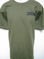 ARMY RANGER T-SHIRT/ MILITARY/ NEW/ front print only