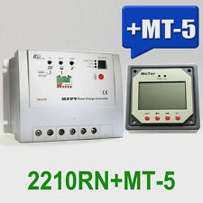20A EPsolar Tracer2210RN MPPT Solar Battery Charge Controller with MT-5 Meter