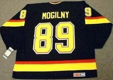 ALEXANDER MOGILNY Vancouver Canucks 1996 CCM Vintage Throwback NHL Hockey Jersey