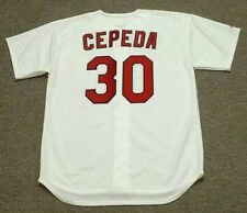 ORLANDO CEPEDA St. Louis Cardinals 1967 Majestic Cooperstown Baseball Jersey