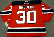 MARTIN BRODEUR New Jersey Devils 2003 CCM Throwback Away NHL Hockey Jersey
