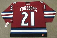 PETER FORSBERG Colorado Avalanche 2002 CCM Throwback Alternate NHL Hockey Jersey