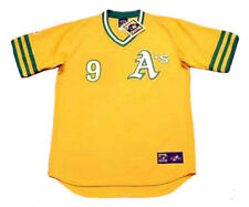 REGGIE JACKSON Oakland Athletics 1972 Majestic Cooperstown Home Baseball Jersey