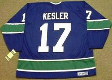 RYAN KESLER Vancouver Canucks 1970's CCM Vintage Throwback NHL Hockey Jersey