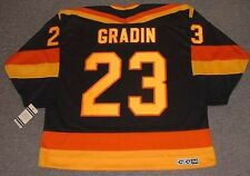THOMAS GRADIN Vancouver Canucks 1985 CCM Vintage Away NHL Hockey Jersey