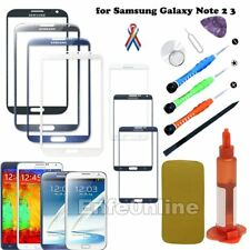 Front Screen Glass Lens Replacement For Samsung Galaxy Note 2 3 Tools UV Glue