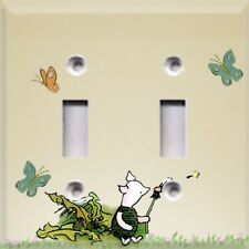 Classic Winnie The Pooh~ Piglet~Light Switch Plate Cover ~Kids Room Decor