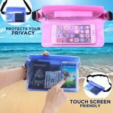 Waterproof Waist Pouch Bag Underwater Case Cover Skin New for iPhone Cell Phone