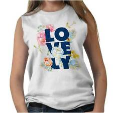 Lovely Women Shirts Funny Picture Shirt Humor Cute Gift Cool Sleeveless Tee