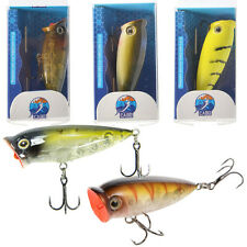 CABO 52mm Peeping Popper - Small Topwater Rattling Minnow Fishing Hard Lure
