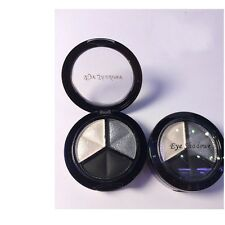 3 Colors Eyeshadow Natural Smoky Cosmetic Eye Shadow Palette Set Make Up 1p