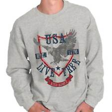 USA T Shirt Eagle Flag Patriotic Pride USA 1776 Mens Gift Idea Sweatshirt